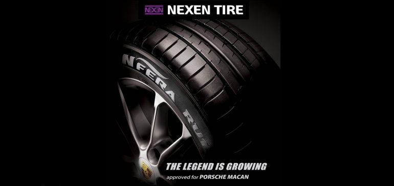 Noul Porsche Macan echipat cu anvelope Nexen N'Fera RU1