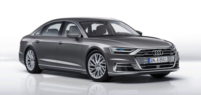 Goodyear echipeaza noul Audi A8