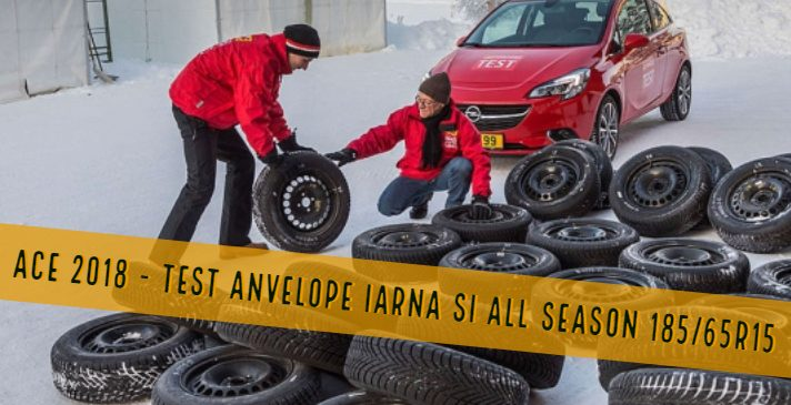 ACE 2018 – Test anvelope 185/65R15 – iarna si all season