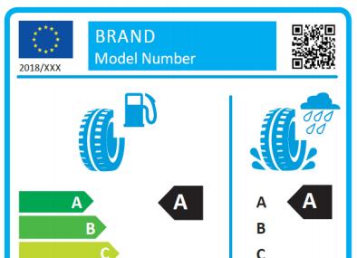 Propunere pentru o noua eticheta pentru anvelope